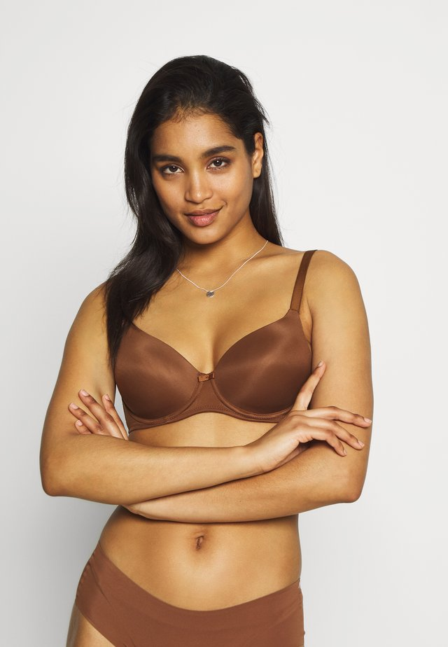SYNTHETIC - Soutien-gorge invisible - sienna