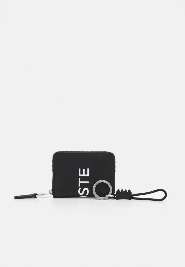 ZIP WALLET AND KEY RING BOX SET - Lommebok - noir blanc