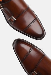 SHOEPASSION - NO. 5424 - Smart slip-ons - brown - 5