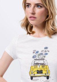 zero - Print T-shirt - offwhite - 3