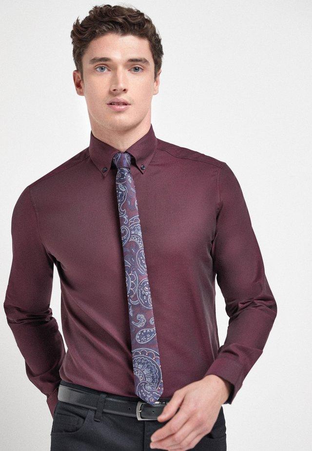 Koszula biznesowa - dark purple