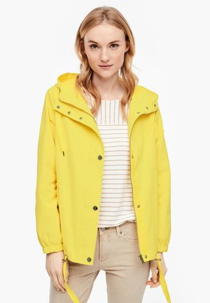 MIT KAPUZE - Light jacket - yellow