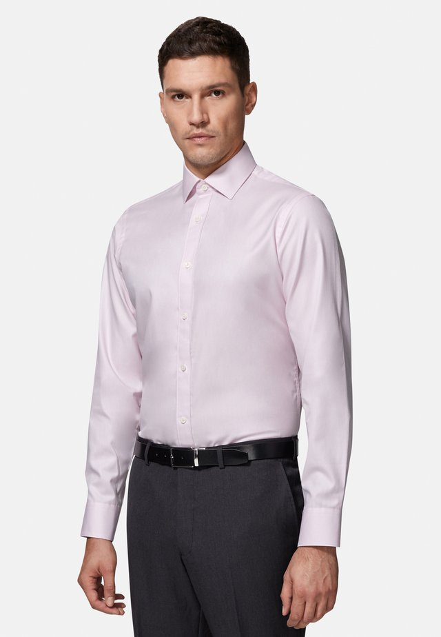FITTED TWILL - Formal shirt - pink