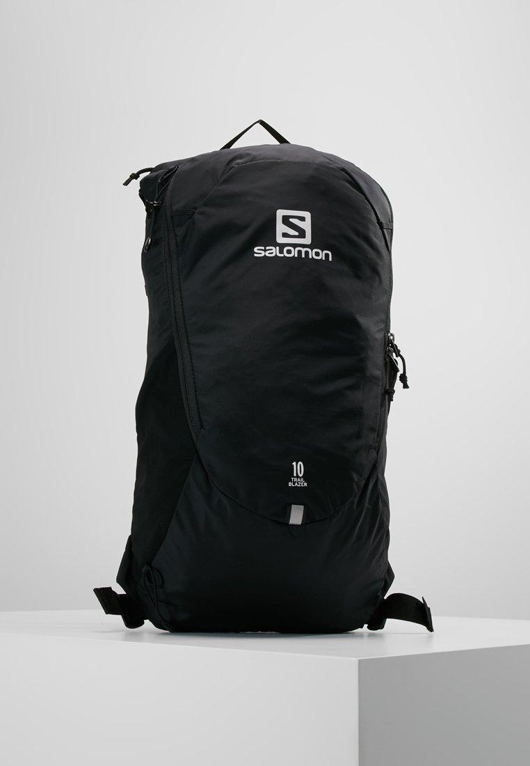 Salomon - TRAILBLAZER 10 UNISEX - Rucksack - black/black