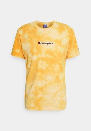 CREWNECK  - T-shirt imprimé - yellow