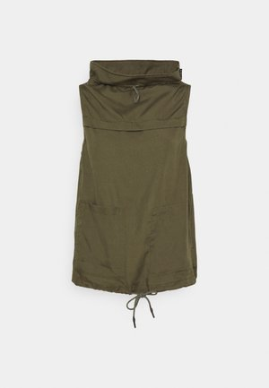 SLEEVELESS MOCK NECK - Top - combat