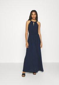 Vila - VIMESA BRAIDED DRESS - Maxi dress - navy blazer - 0