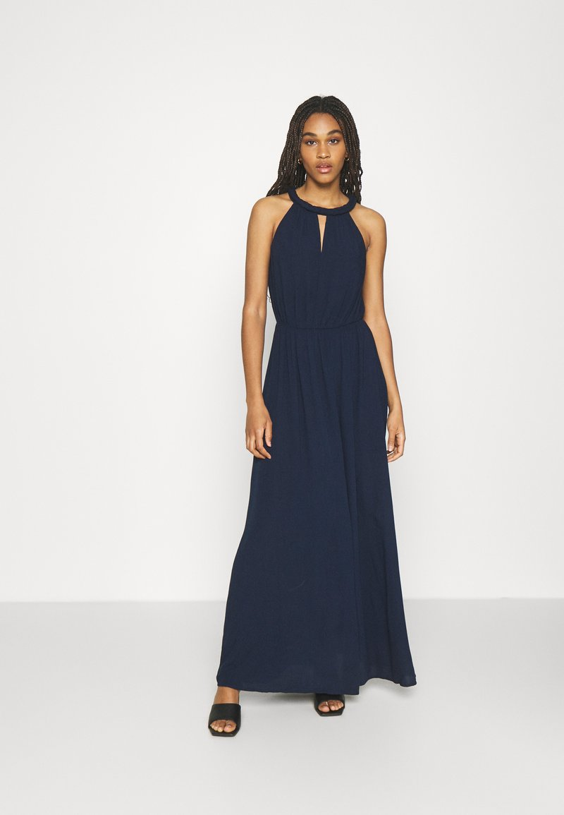 Vila - VIMESA BRAIDED DRESS - Maxi dress - navy blazer