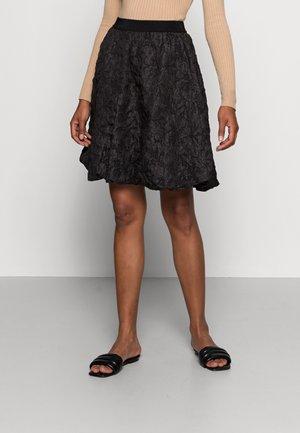 BETHEL SKIRT - Puffball skirt - black