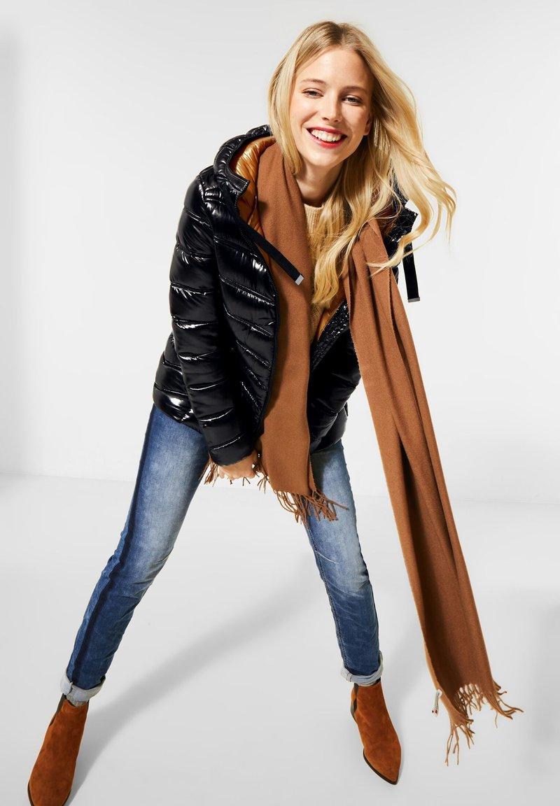 Street One - Winter jacket - schwarz
