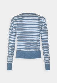 Polo Ralph Lauren - CLASSIC LONG SLEEVE - Chaqueta de punto - blue heather - 1