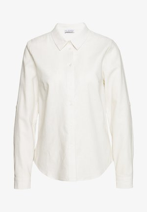 BLOUSE - Button-down blouse - white beach
