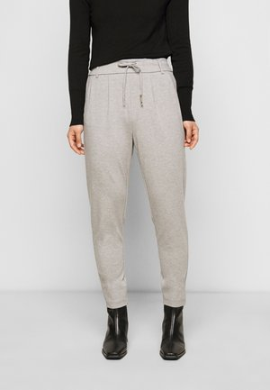 ONLPOPTRASH EASY COLOUR PANT - Trousers - light grey melange