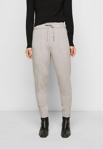 ONLPOPTRASH EASY COLOUR PANT - Kalhoty - light grey melange