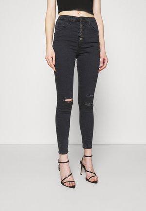 SABRINA - Skinny džíny - black