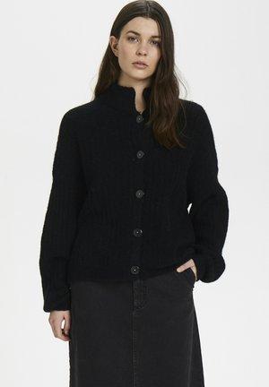 ALPIAGZ BOXY - Cardigan - black