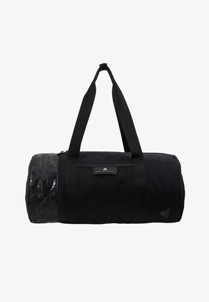 ROUND DUFFEL S - Sportovní taška - black/black/white