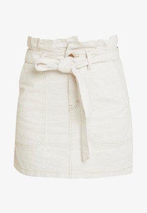 SPLENDOR IN THE GRASS SKIRT - Mini skirt - neutral