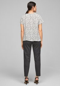 s.Oliver BLACK LABEL - Blouse - soft white floral print - 1