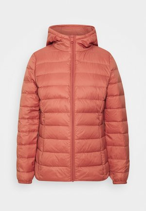 BYIBICO JACKET - Down jacket - canyon rose