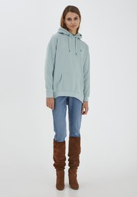b.young - Hoodie - blue surf - 1