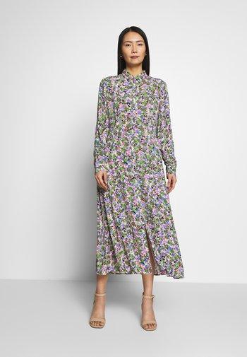 Day dress - multi-coloured/white