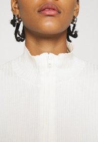 Monki - Cardigan - white light - 4