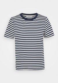 Dedicated - MYSEN STRIPES - Print T-shirt - black iris - 4