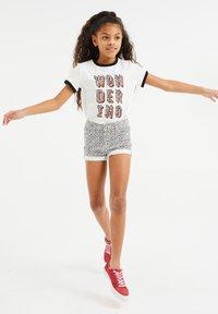 WE Fashion - Camiseta estampada - white - 0