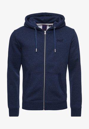 VINTAGE LOGO - Zip-up sweatshirt - vintage navy marl