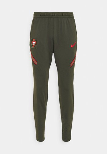 PORTUGAL DRY PANT  - Träningsbyxor - sequoia/sport red