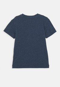 adidas Performance - UNISEX - T-shirt print - crew navy melange/white - 1