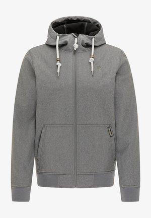 Waterproof jacket - dunkelgrau melange