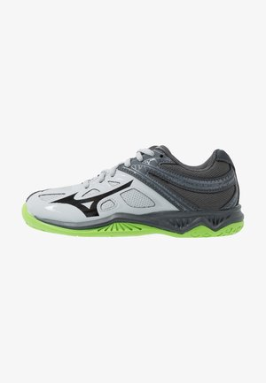LIGHTNING STAR JR - Volleyball shoes - high rise/black/green gecko