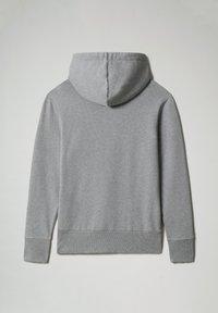 Napapijri - BALYA HOOD - Luvtröja - medium grey melange - 5