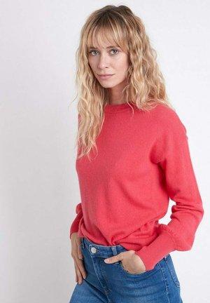 Sweatshirt - rouge cerise