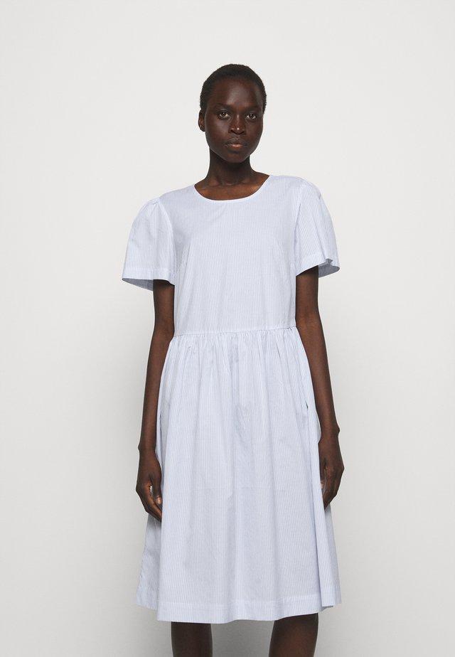 UMBRIA DRESS - Korte jurk - cream/blue