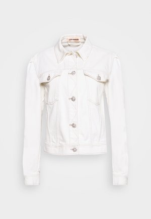 YOEL JACKET - Denim jacket - whisper white