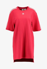adidas Originals - TEE DRESS - Freizeitkleid - energy pink - 3