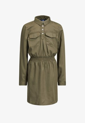 VAN LYOCELL - Day dress - army green