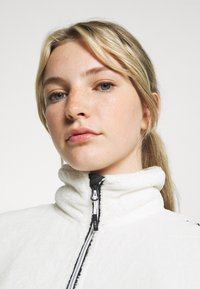 CMP - WOMAN JACKET - Fleece jacket - gesso/antracite - 3