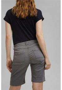 Esprit - Denim shorts - grey medium washed - 6