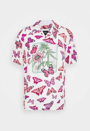 PAPILLON - Shirt - off white/pink