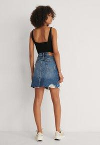 NA-KD - Mini skirt - mid blue - 3