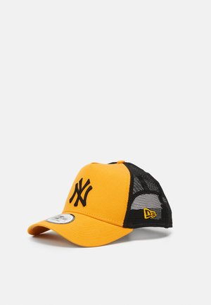LEAGUE ESSENTIAL TRUCKER UNISEX - Kšiltovka - yellow/black
