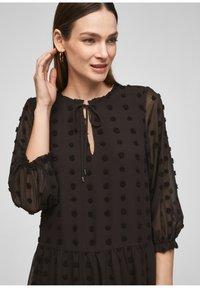s.Oliver BLACK LABEL - Day dress - black - 4
