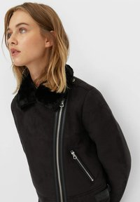 Stradivarius - Light jacket - black - 3