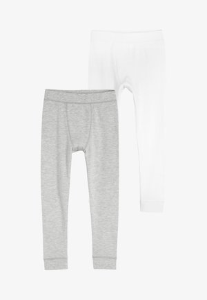 2 PACK THERMAL LEGGINGS - Kalhoty - grey