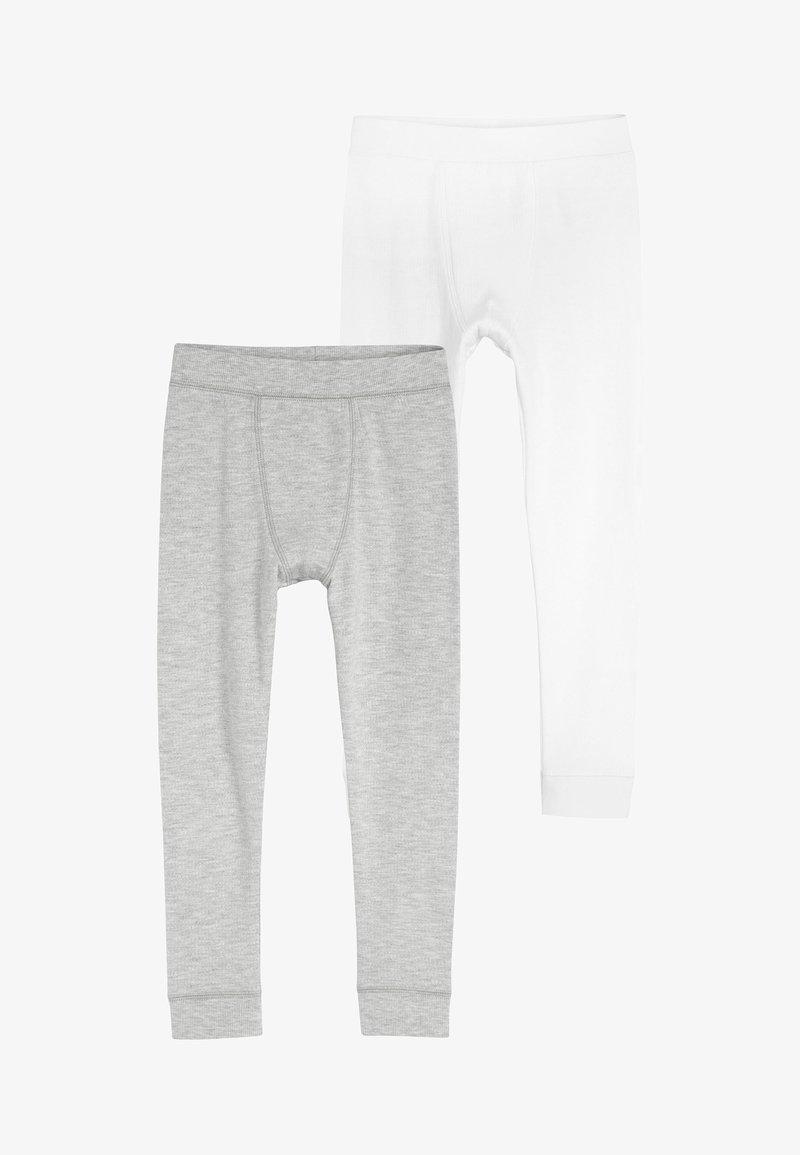 Next - 2 PACK THERMAL LEGGINGS - Kangashousut - grey