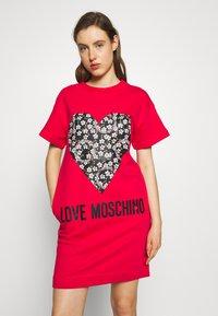 Love Moschino - Freizeitkleid - red - 0